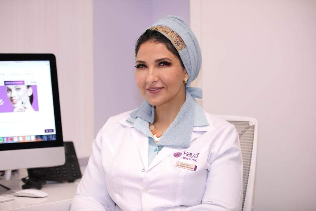 مها أبو زيد إخصائية جلدية  تعطي روشتة للتخلص من حب   الشباب