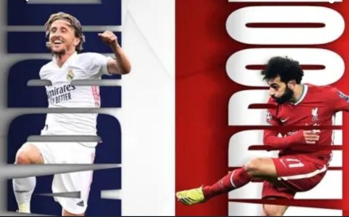 أهداف الشوط الأول بمباراة ريال مدريد وليفربول في دوري أبطال أوروبا