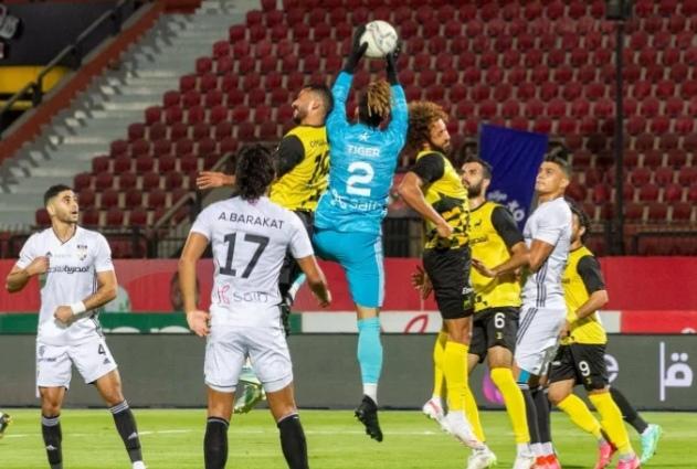 إنتهاء مباراة الجونة ووادى دجلة بدون أهداف  في الدوري المصري