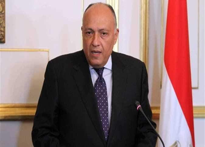 شكري يرفض التدخلات الأجنبيّة في شؤن الدول العربية.
