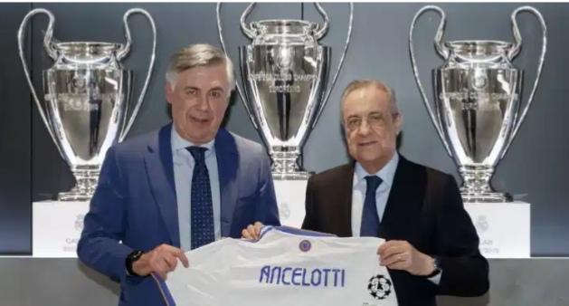 أنشيلوتى يطيح ب خمسة نجوم خارج ريال مدريد