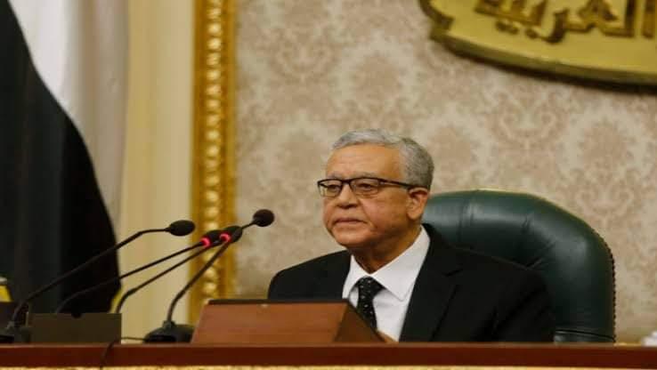 ننشر نص كلمة المستشار الدكتور حنفى جبالى رئيس مجلس النواب تأبين ضحايا حادث قطارى سوهاج