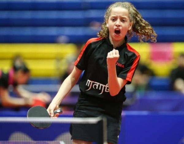 أصغر لاعبة فى التاريخ.. هنا جودة تتألق فى سماء تنس الطاولة المصرية