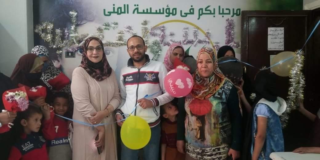 بسوهاج مؤسسة المنى فى أحتفالية تسلم عدد من المشاريع الصغيرة للإمهات فى عيدهم