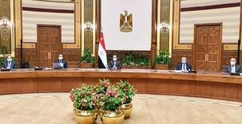 السيسي يطلع علي محاور مشرفو تطوير قري الريف المصري
