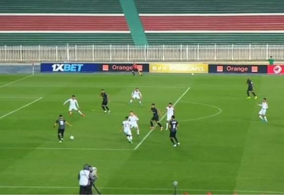 الزمالك يكتسح المباراة أمام مولودية الجزائر بهدفين نظيفين في الشوط الأول