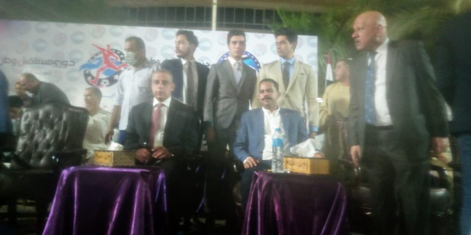 نهائي حزب مستقبل وطن بسوهاج  وفوز فريق الطواحين
