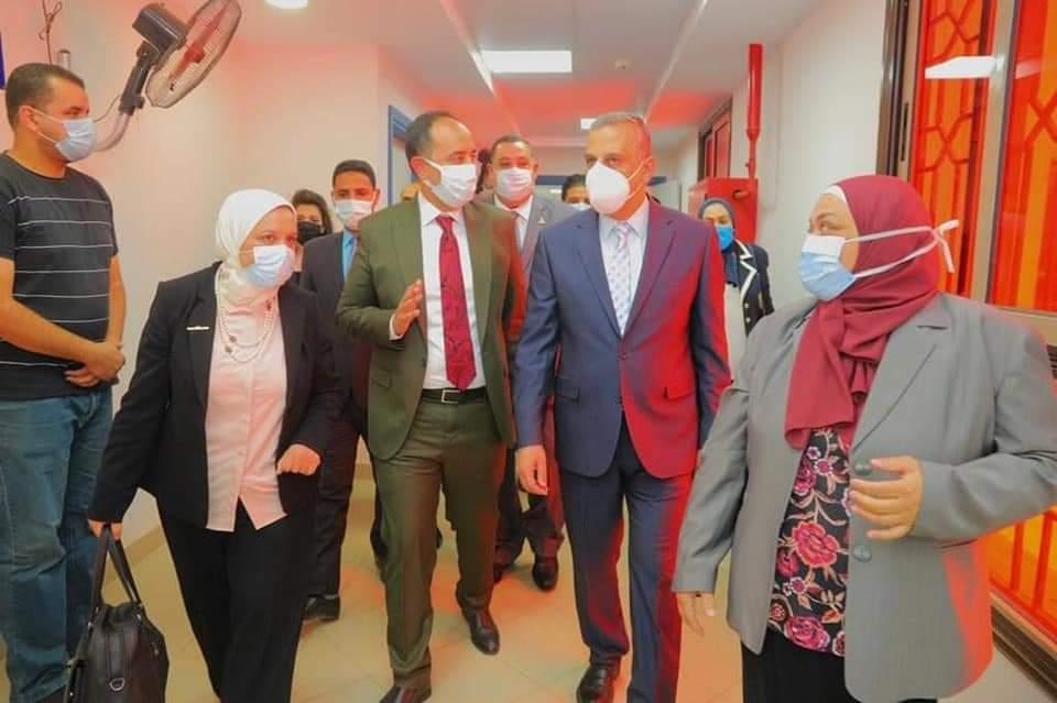 تشغيل قسم جديدلعلاج مرضي الإدمان بسوهاج  تحت رعاية نيفين القباج وزيرة التضامن الاجتماعىُ