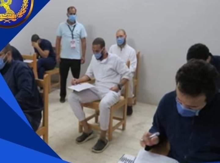 قطاع السجون يعقد عددا من اللجان لأداء الامتحانات لبعض النزلاء علي مستوي الجمهورية