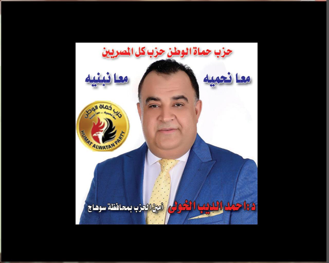 حزب حماة الوطن بسوهاج يحتفل بثورة 30 يونيو