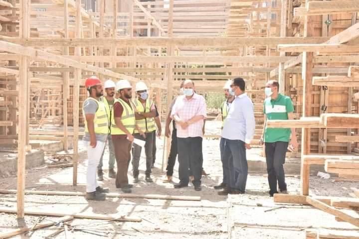 محافظ أسيوط يتفقد أعمال مشروع إحلال وتجديد مستشفى ساحل سليم النموذجي الجديد