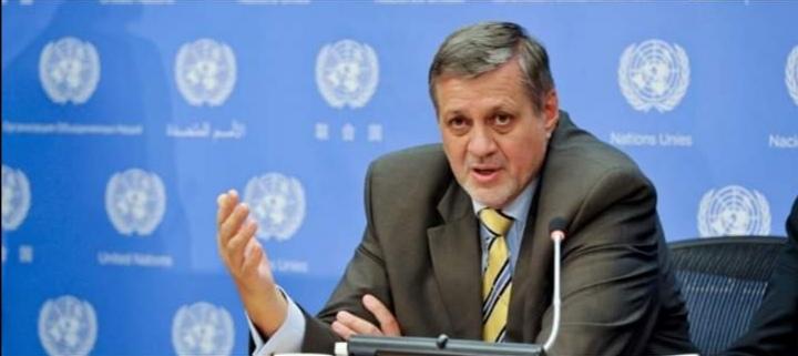 المبعوث الأممي لمجلس الأمن يدعو إلى دعم خطة بدء انسحاب متوازن وتدريجي للمسلحين الأجانب