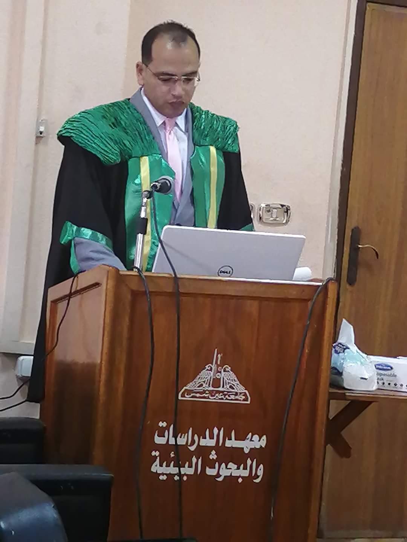 خالص التهانى للباحث محمد درى موسى لحصوله على درجة دكتوراه الفلسفة فى المحاسبة