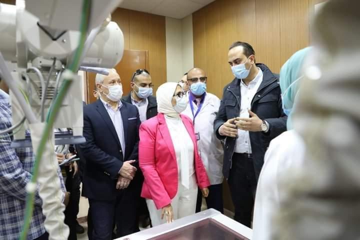وزيرة الصحة: تسجيل 84% من سكان محافظة الأقصر بمنظومة التأمين الصحي الشامل