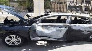 انفجار عبوة ناسفة مزروعة في سيارة مسؤول محلي في