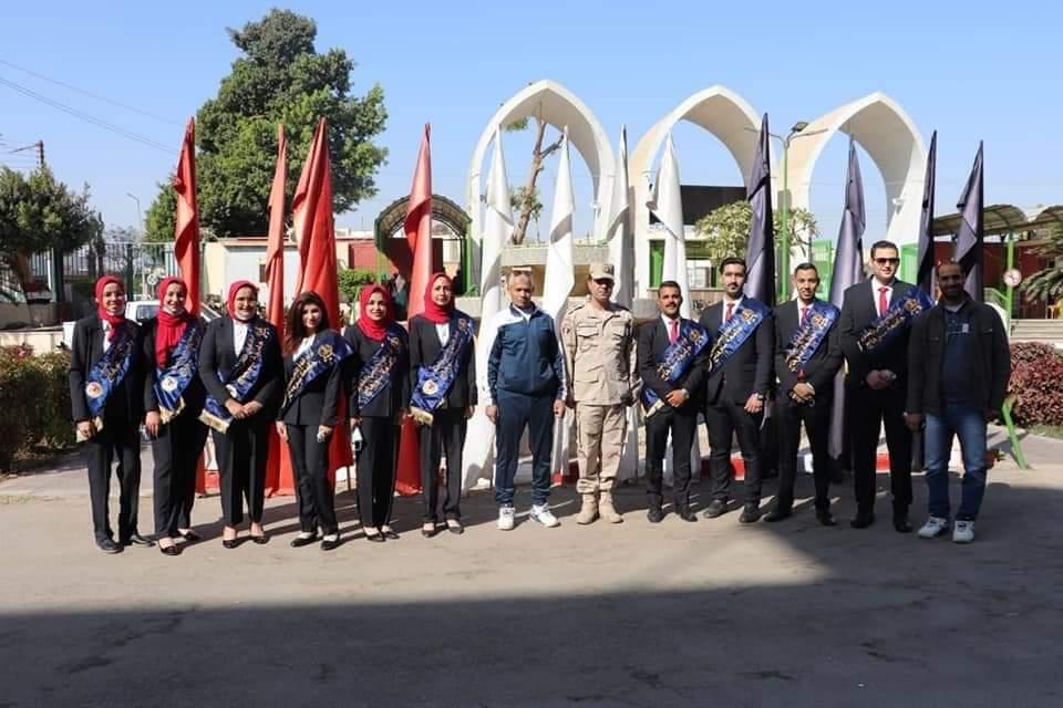 بمشاركة طلاب جامعة سوهاج قوات الدفاع الشعبى والعسكرى تنظم مشروع تدريبي لإدارة الأزمات والكوارث